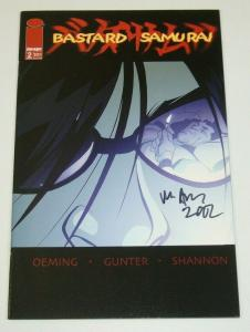 Bastard Samurai #2 VF/NM; signed by Michael Avon Oeming - Image comics
