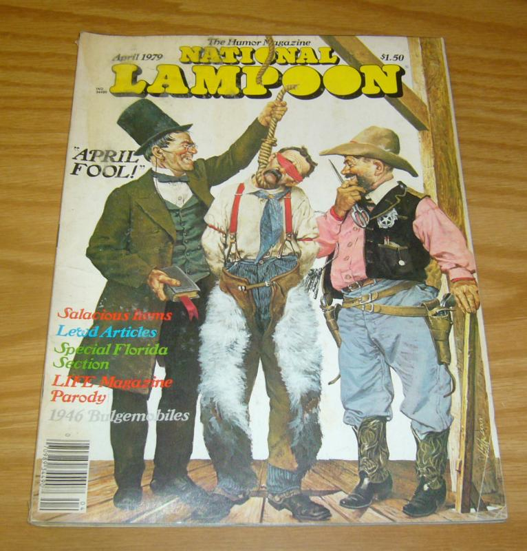 National Lampoon vol. 2 #9 VG april 1979 bobby london's dirty duck - john hughes