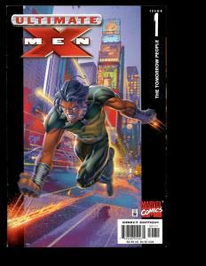 Lot Of 12 Ultimate X-Men Marvel Comics 1 2 3 4 5 6 7 8 9 10 11 12 Wolverine SM7