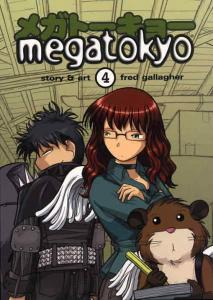 Megatokyo #4 VF/NM; Dark Horse | save on shipping - details inside