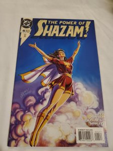 Power of Shazam 4 Near Mint- Cover by Jerry Ordway