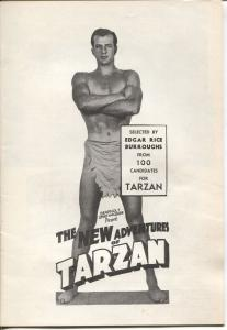 New Adventures of Tarzan 1960's-famous serial of 1930's-ERB-VG