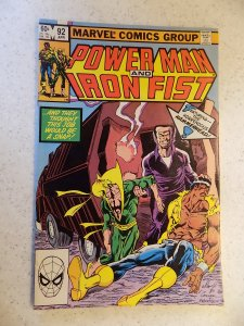 POWER MAN AND IRON FIST # 92