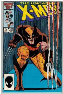 X MEN 207 VG-F July 1986