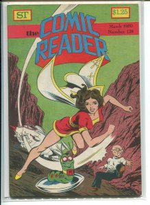COMIC READER (1961 STREET) FANZINE #178 VF+ A65652