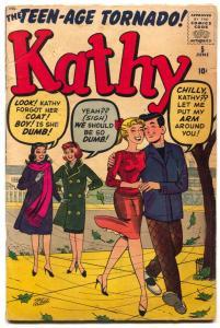 Kathy Comics #5 comic book 1960- Stan Goldberg cover- VG