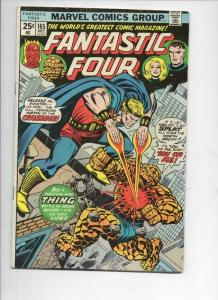 FANTASTIC FOUR #165, VG/FN, Crusader, Thing, 1961 1975, more FF in store