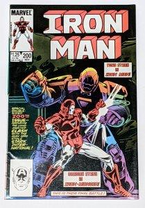 Iron Man #200 (Nov 1985, Marvel) VF- 7.5 Tony Stark returns as Iron Man