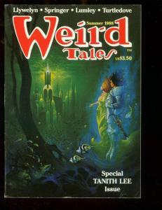 WEIRD TALES-SUM 1988-TANITH LEE-TURTLEDOVE-STEVE FABIAN FN/VF