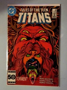 TALES OF THE TEEN TITANS #63, NM-, Torment, Perez, DC 1986  more DC in store
