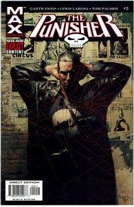 The Punisher #2  (2004) MAX Garth Ennis  NM