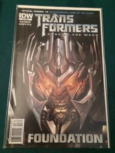 Transformers Dark Of The Moon Prequel #3 Foundation