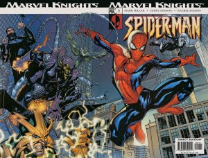 Marvel Knights Spider-Man #1 (ungraded) stock photo
