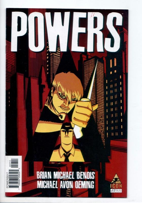Powers #17 - Brian Michael Bendis (Marvel, 2006) - FN