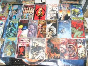 ANIMAL MAN (DC Comics/Vertigo), 55-79, 20 diff, 1993-1995 Jamie Delano