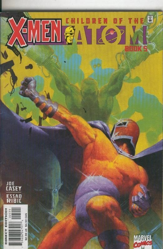 X Men: Children of the Atom numero 5