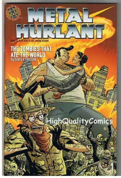 METAL HURLANT #14, NM+, Zombies that ate the World, Guy Davis, more in store