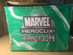 Marvel Heroclix FIN FANG FOOM Green Box Dial Figure Exclusive MFT4