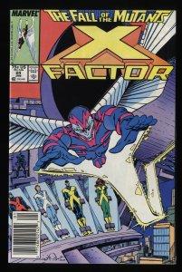 X-Factor (1986) #24 FN+ 6.5 1st Archangel!