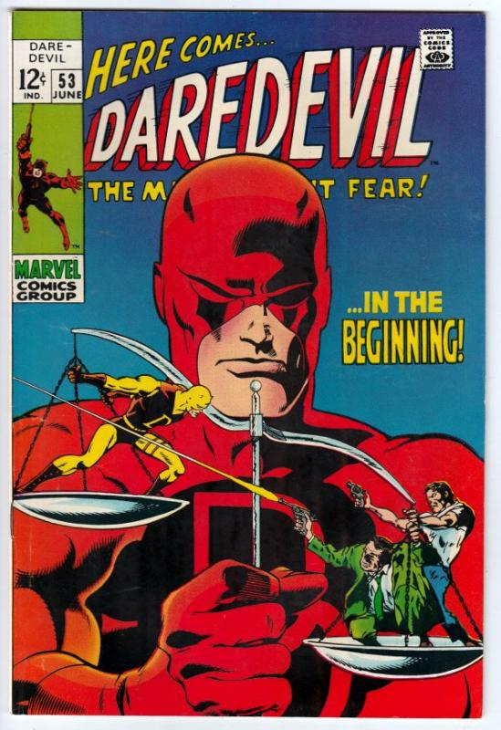 Daredevil #53 (Jun-69) NM Super-High-Grade Daredevil