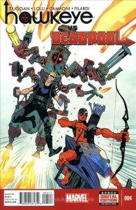 Hawkeye Vs. Deadpool #4 VF/NM; Marvel   save on shipping - details inside