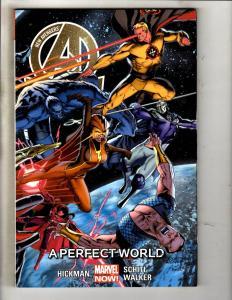 New Avengers A Perfect World Vol. # 4 Marvel Comic Book Graphic Novel TPB MF5