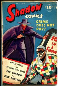 Shadow Vol. 6 #5 1946-Harlequin-Nick Carter-Doc Savage-G+