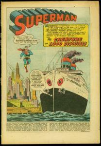 Action Comics #234 1957- Superman- Tommy Tomorrow- Congo Bill Reading Copy