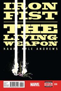 Iron Fist: The Living Weapon #6, NM (Stock photo)