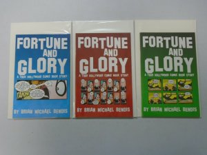 Fortune and Glory Set: #1-3 8.0 VF (2000)