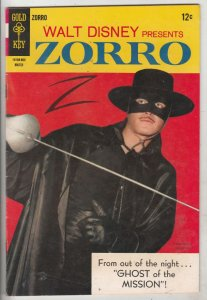 Zorro, Walt Disney Presents #9 (Mar-67) FN/VF Mid-High-Grade Zorro