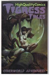 TIGRESS TALES #3, VF+, Limited, Femme, Mike Hoffman, 2001, more Variant in store
