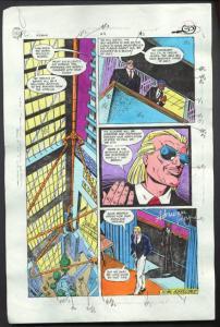 ROBIN #4-1990 PRODUCTION ART-COLOR GUIDE PG 22-TOM KYLE VG