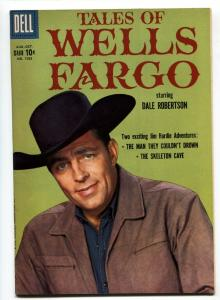Four Color Comics #1023 VF/NM Tales of Wells Fargo TV Photo cover