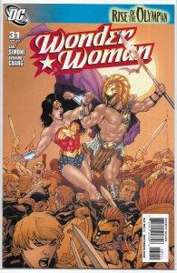Wonder Woman (vol. 3, 2006) # 31 VG/FN (Rise of the Olympian 6) Simone/Chang