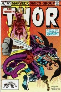 Thor #325 (1966 v1) Mephisto NM-