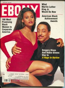 Ebony 1/1991-Robin Givens-Gregory Hines-Martin Luther King Jr-FN