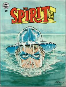 The Spirit #20 (1974 Magazine) - VF