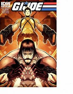 Lot Of 2 G.I.Joe IDW Comic Book #4 20     MS22
