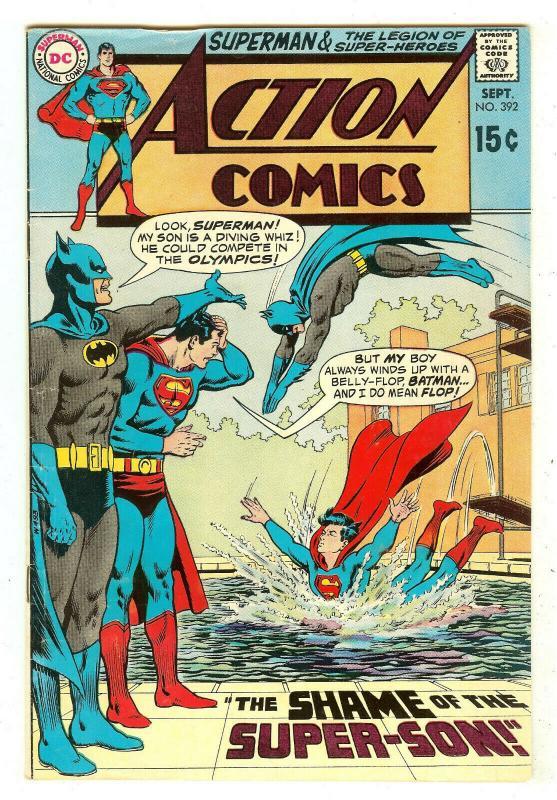 Action Comics 392   Batman