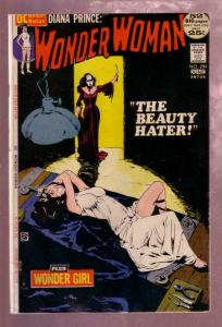 WONDER WOMAN #200 1972- DIANA PRINCE-JEFF JONES GAG COV G/VG
