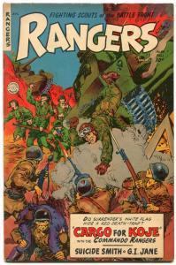 Rangers Comics #68 1952- Fiction House- Space Rangers- GI Jane VF-