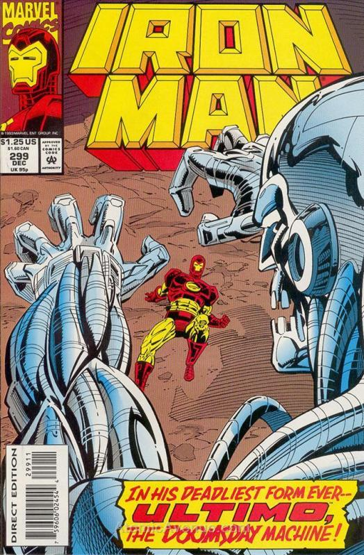 Iron Man (1st Series) #299 FN; Marvel | save on shipping - details inside