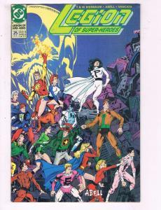 Legion Of Superheroes #25 VF DC The Quiet Darkness Part IV Comic Book 1989 DE9