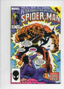 Peter Parker SPECTACULAR SPIDER-MAN #111 VF/NM, Puma 1976 1986 more in store