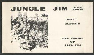 Jungle Jim 1972-Alex Raymond comic strip reprints-Ghost of The Java Sea-Pac...