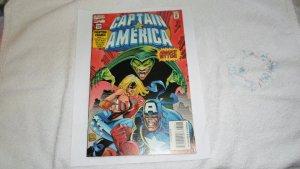 1995 marvel comics captain america # 435 w/ card.# 435