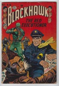 Blackhawk #66, July 1953