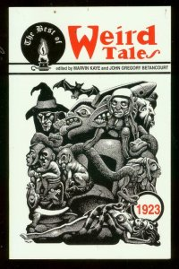 BEST OF WEIRD TALES: 1923 PAPERBACK-LOVECRAFT-WRIGHT VF/NM