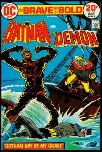The Brave and the Bold #109 1972- Batman - Demon VF-